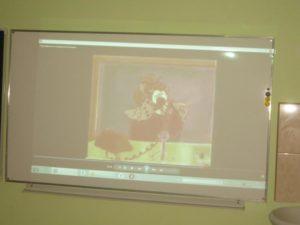 В 1-4-х классах были показаны презентации и обучающие мультфильмы