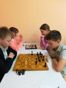 Юные шахматисты